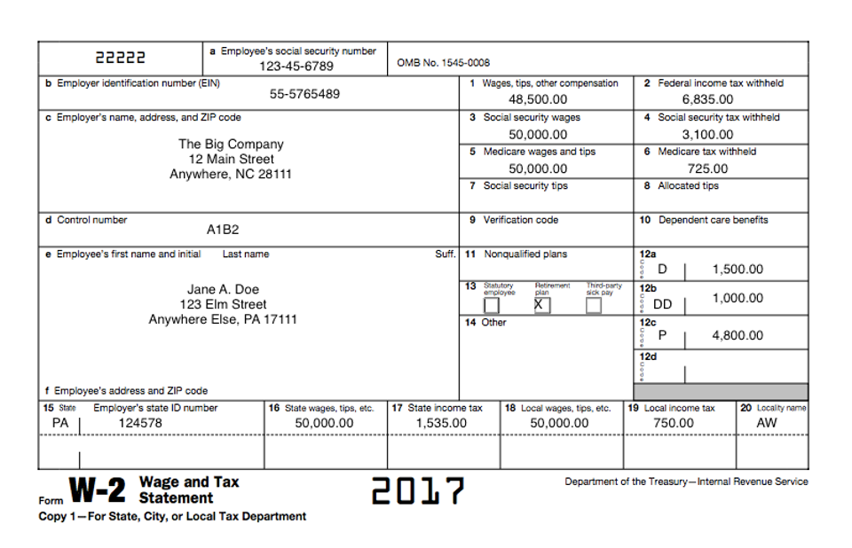 an employer's guide to easily completing a w-2 form | gift cpas